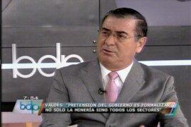 """Premier Valdés pide poner """"paños fríos"""" a polémica por buque inglés"""