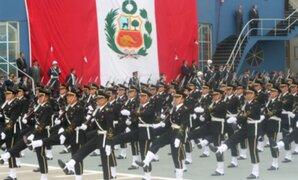 Aumento de sueldo a Fuerzas Armadas y Policía Nacional será en cinco tramos