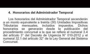 Fútbol peruano: administradores temporales ganarán más de 100 mil soles al mes