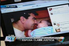 Familia de mayor de la FAP muerto denuncia homicidio en Base de Las Palmas
