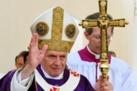 Benedicto XVI celebra misa y ora para que llegue la paz a México
