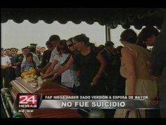 Fuerza Aérea ahora descarta suicidio en muerte de mayor
