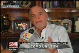 Rómulo León califica de persecución política pedido para regresarlo a prisión