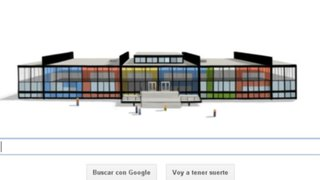 Google rinde homenaje a arquitecto Ludwing Mies van der Rohe con un doodle