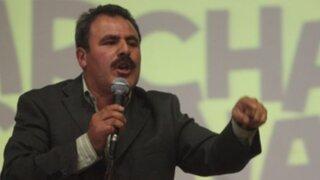 Congresista Jorge Rimarachín califica como venganza pedido de suspensión