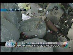 Violento accidente de tránsito deja anciano muerto en El Agustino