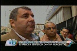 Suspenden lectura de sentencia contra Juan Carlos Tafur por caso Sánchez Paredes