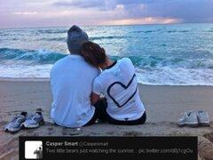 Casper Smart cuelga tierna foto en Twitter al lado de Jennifer López