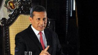 Presidente Humala: No me voy a hundir más por culpa de Antauro