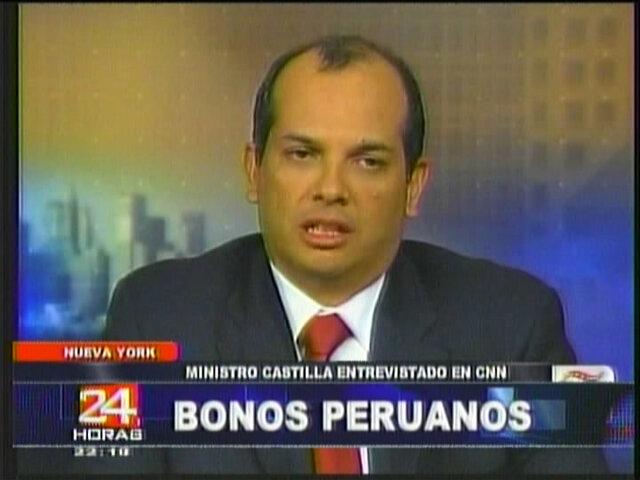 Ministro Castilla: Los números fríos de un especialista no reflejan la real problemática