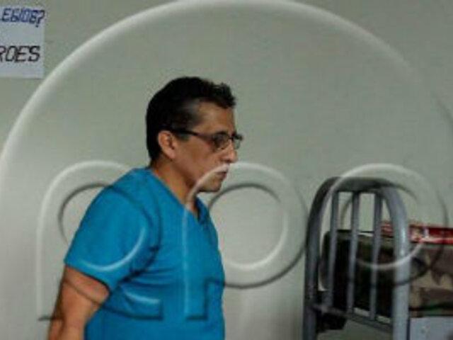 Antauro Humala coloca cartel negando tener privilegios en Chorrillos