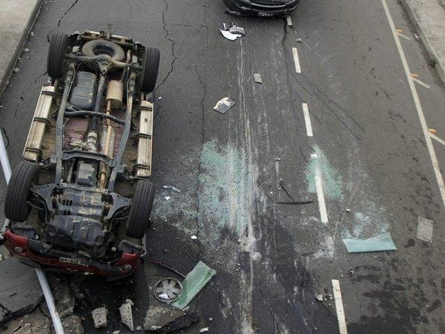 Tres muertos deja competencia automovilística en pistas de Mollendo