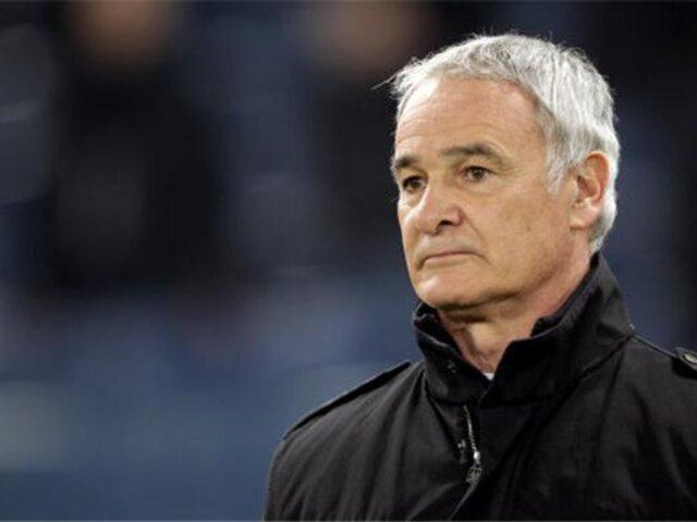 Inter de Milán despidió a Claudio Ranieri por malos resultados