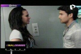 Ezio le dice a Lucía que quiera estar con ella en TN @malcriados