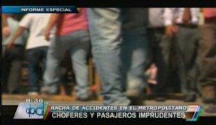 Informe revela alarmante incremento de atropellos en la capital