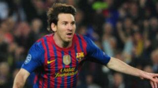 Messi se acerca al récord de goles en una sola temporada