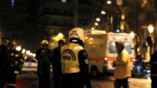 Grecia: bomba estalla en despacho de expremier socialista Costas Simitis