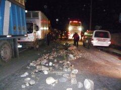 Transportistas toman de rehenes a tres mineros de Doe Run por bloqueo de la Carretera Central