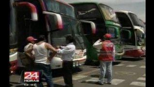 Pasajes al centro del país suben hasta en 300% por paro en La Oroya