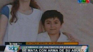 Argentina: menor se suicida de un balazo en la cabeza por maltratos en su colegio