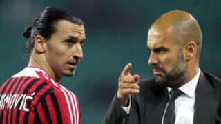 Zlatan Ibrahimovic rompe su silencio: Guardiola no fue hombre conmigo