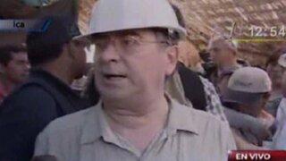 Premier Valdés: En dos días podríamos rescatar a los mineros atrapados en la mina