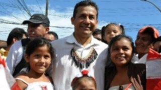 Presidente Humala reafirma compromiso con los niños peruanos en su día