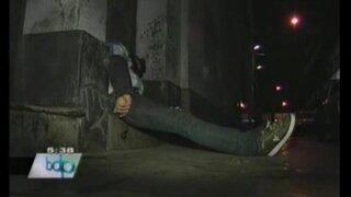 Crónica de madrugada: encuentran sin vida a sujeto en el Cercado de Lima