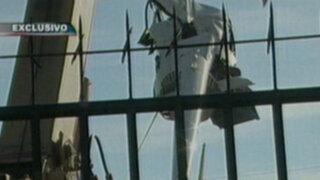 Video muestra el pánico causado por caída de helicóptero en vivienda del Callao