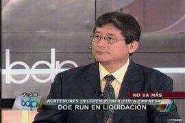 MEF: Liquidación de Doe Run no perjudicará derechos laborales de trabajadores