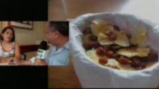 Presentan desayunos saludables en base a yacón y aguaymanto deshidratado