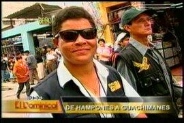 Exconvictos brindan servicio de seguridad en centros comerciales de Lima