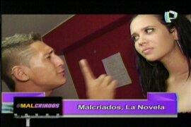 Lucía Oxenford se niega besar a Húber en telenovela sobre los @malcriados