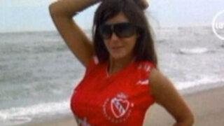 Tilsa cambia la camiseta violeta de la Fiorentina por la roja de Independiente