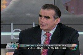 SNI: El Gobierno debe mantenerse firme e imponer sus normas sobre Conga