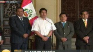Autoridades dan ultimátum al Ejecutivo para nombrar nuevo operador en La Oroya