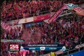 Bayern celebra en la Champions League