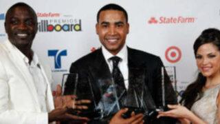 VIDEO: Don Omar y Princce Royce brillan en los Billboard 2012