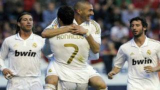 Real Madrid goleó 3-0 al Sevilla y está a punto de ganar la Liga española
