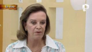 Luisa María Cuculiza habla claro con Lorena