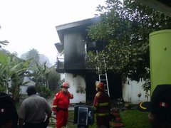 Fuga de interno o gresca habría desatado incendio en albergue de Chosica