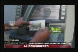 Surco: detectan aparatos para clonar tarjetas de crédito en los cajeros