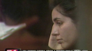 Ministerio Público formalizó pedido de 30 años de prisión para Elita Espino