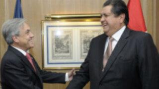 Alan García: Si yo fuera chileno, felicitaría a Sebastián Piñera