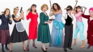 Suspenso, humor y drama en 'Ocho mujeres y un crimen'