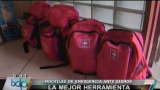VIDEO: Aprendiendo a preparar mochilas de emergencia