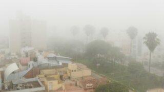 Niebla y frío se presentarán esta semana en distritos costeros de Lima