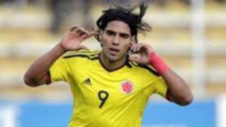 Radamel Falcao encabeza convocados de Colombia para jugar ante Perú y Ecuador