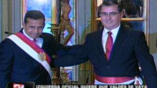 JDC y Mavila insisten en pedir la renuncia de premier Óscar Valdés