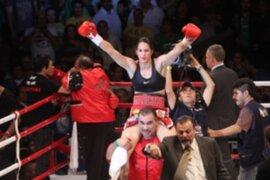 Boxeadora Kina Malpartida no descarta postular al Congreso